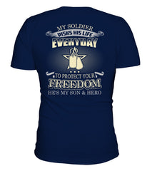 Army Mom Protect Your Freedom T-shirts
