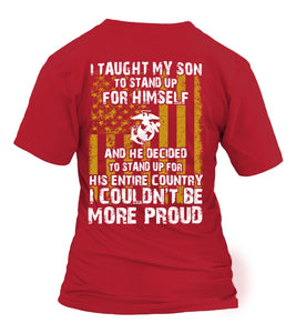 Shirt - Marine Mom Couldn't Be More Proud T-shirts