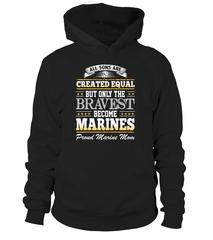 Marine Mom Created Equal T-shirts