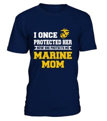 Marine Mom Daughter Once Protect T-shirts