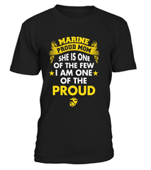 Marine Mom Daughter One Of The Proud T-shirts