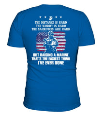 Marine Mom Easy Raising Marine T-shirts