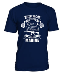 Marine Mom Gets Excited T-shirts