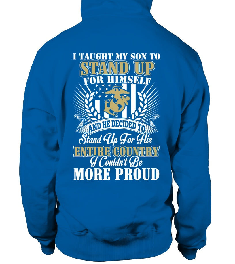 Shirt - Marine Mom More Proud Plus T-shirts