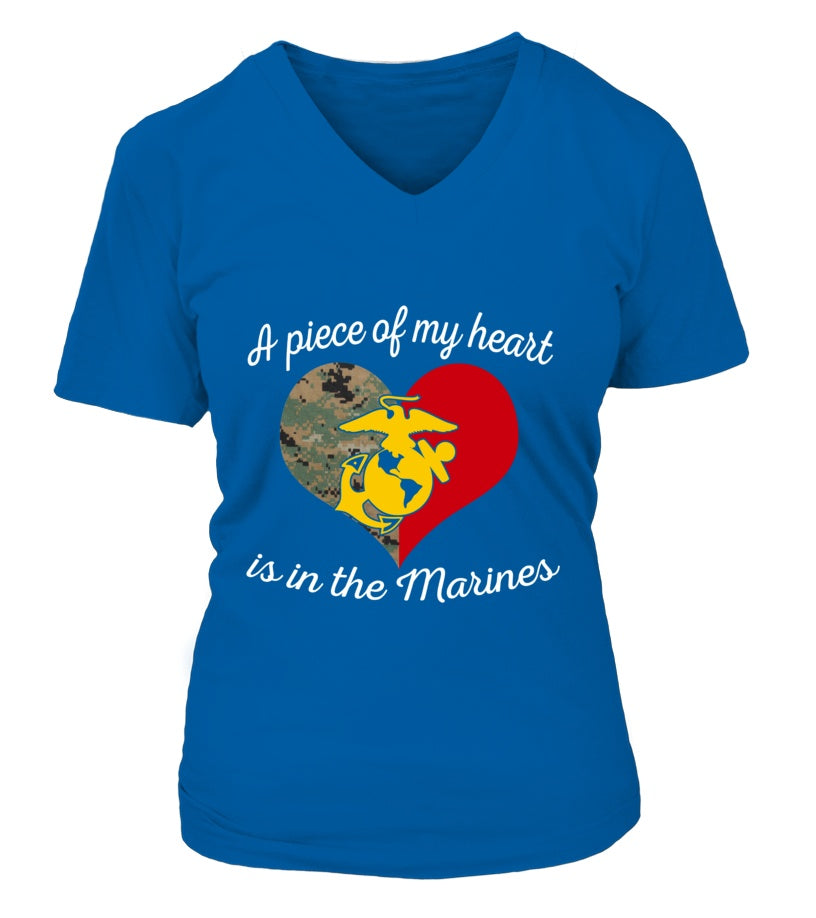 Shirt - Marine Mom Piece Of My Heart T-shirts