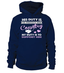 Military Mom My Duty T-shirts