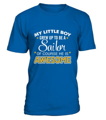 Navy Mom Awesome T-shirts