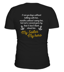 Navy Mom Daughter Always Miss Her T-shirts