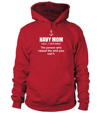 Navy Mom Definition T-shirts