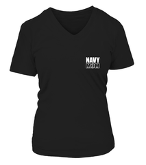 Navy Mom Easy Raising Sailor 2-Sides T-shirts