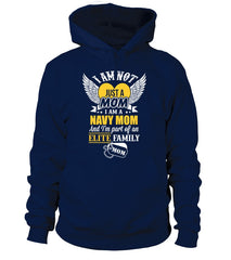 Navy Mom Elite Family T-shirts