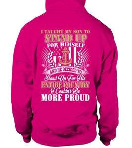 Shirt - Navy Mom More Proud Plus T-shirts