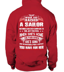 Navy Mom When You Raised Daughter T-shirts