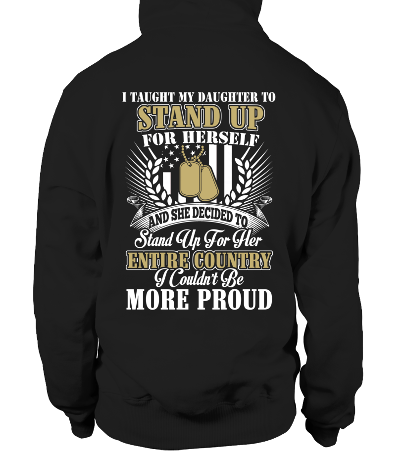 Shirt - Veteran's Mom Daughter Couldn't Be More Proud T-shirts