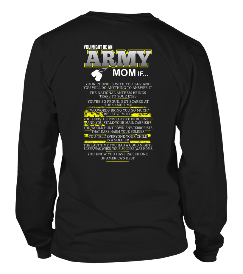 5fc01b80 ... Shirt - You Might Be An Army Mom If ...