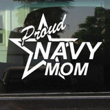 Sticker - Proud Navy Mom Vinyl Decal/sticker
