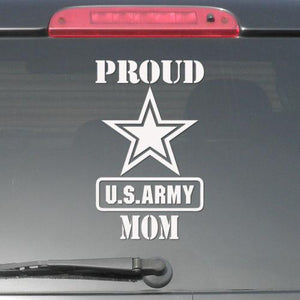 Sticker - Proud Us Army Mom Decal