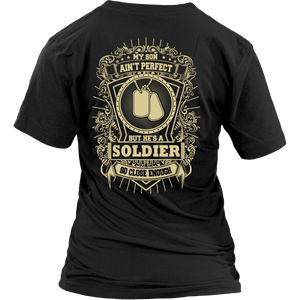 Army Mom - My Son Is A Perfect Soldier - MotherProud