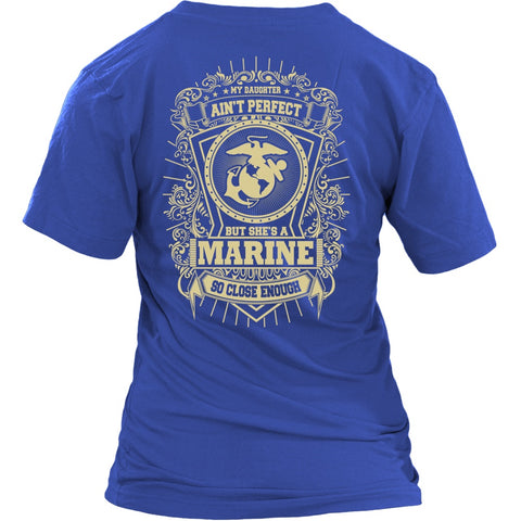 Marine Mom My Daughter Is Close To Perfect