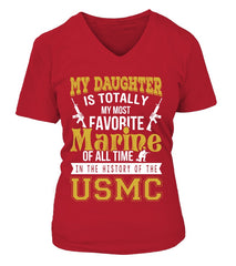 My Daughter Is My Most Favorite Marine