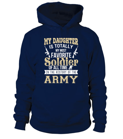My Daughter Is My Most Favorite Soldier