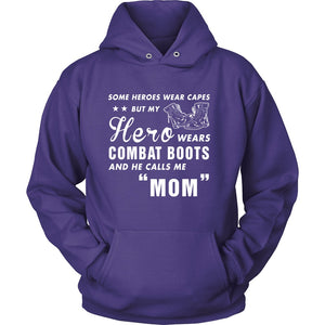T-shirt - My Hero Wears Combat Boots