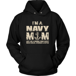 T-shirt - Navy Mom Cooler