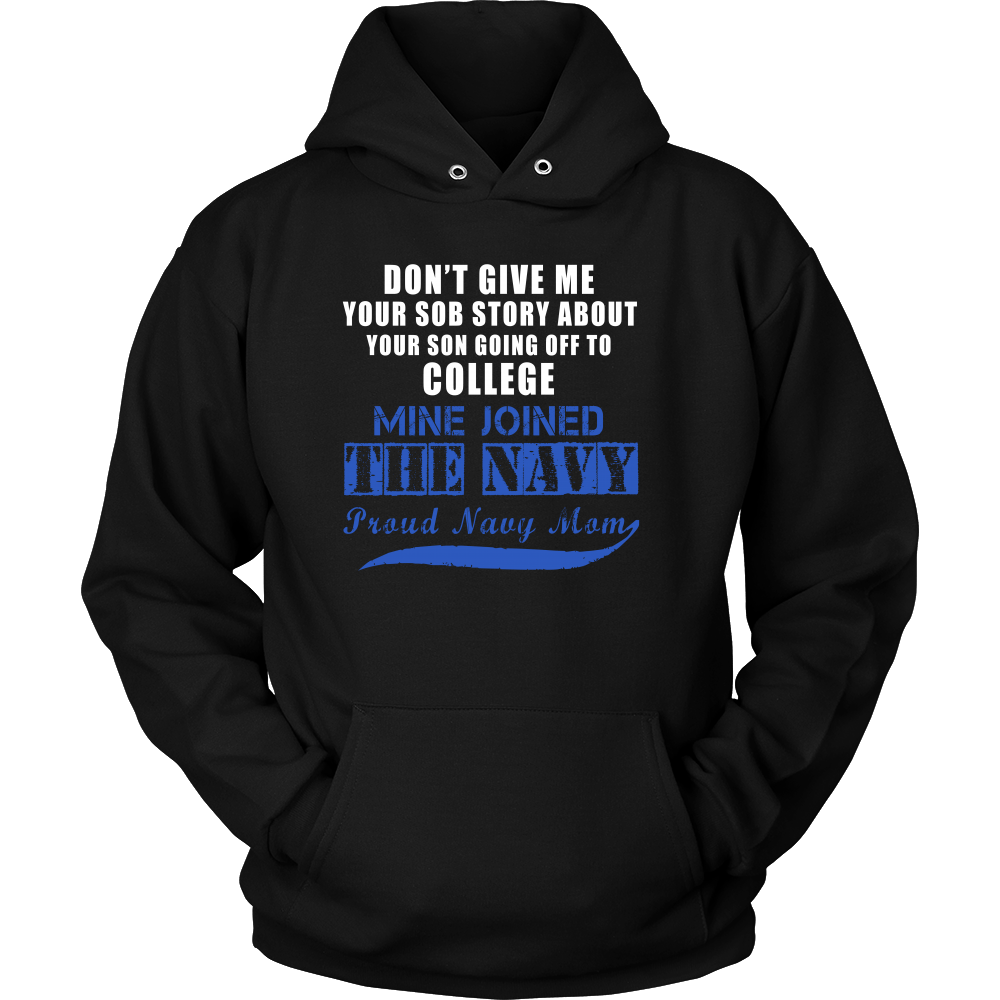 T-shirt - Navy Mom - Mine Joined The Navy