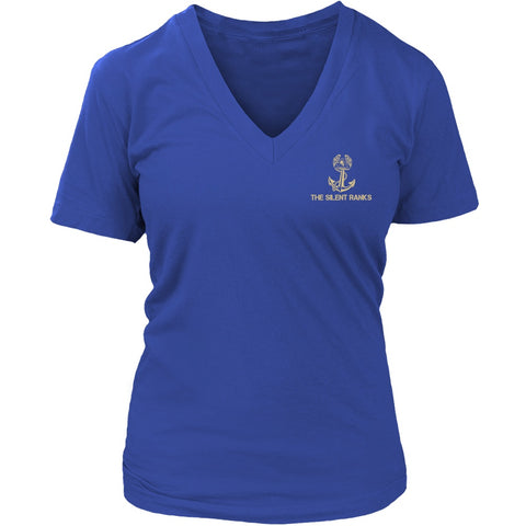 Navy Mom The Silent Ranks Shirts