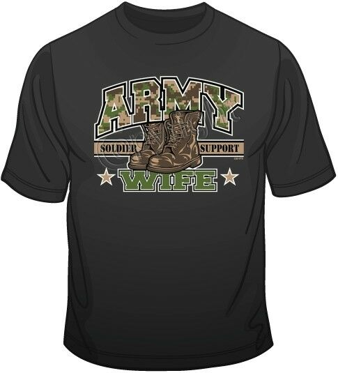 Army Wife Soldier Support T-shirts