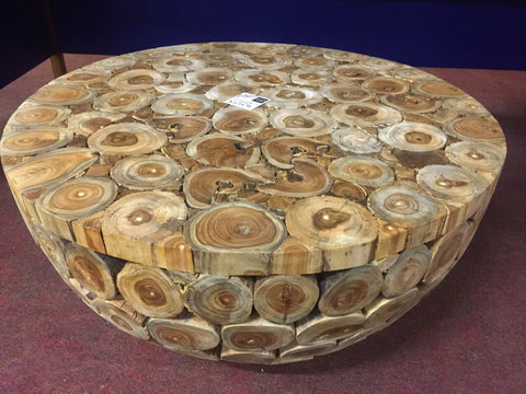 Root Round Solid Coffee Table