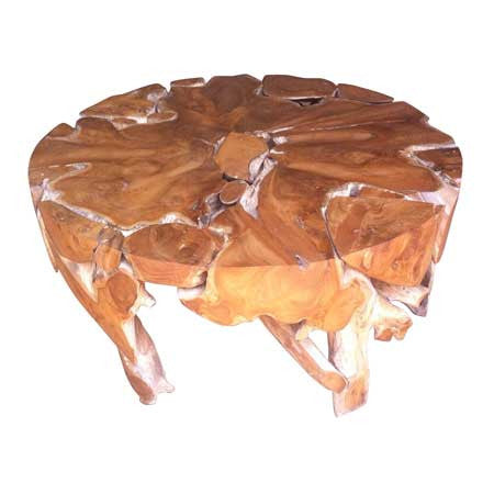 Root Solid Coffee Table Round