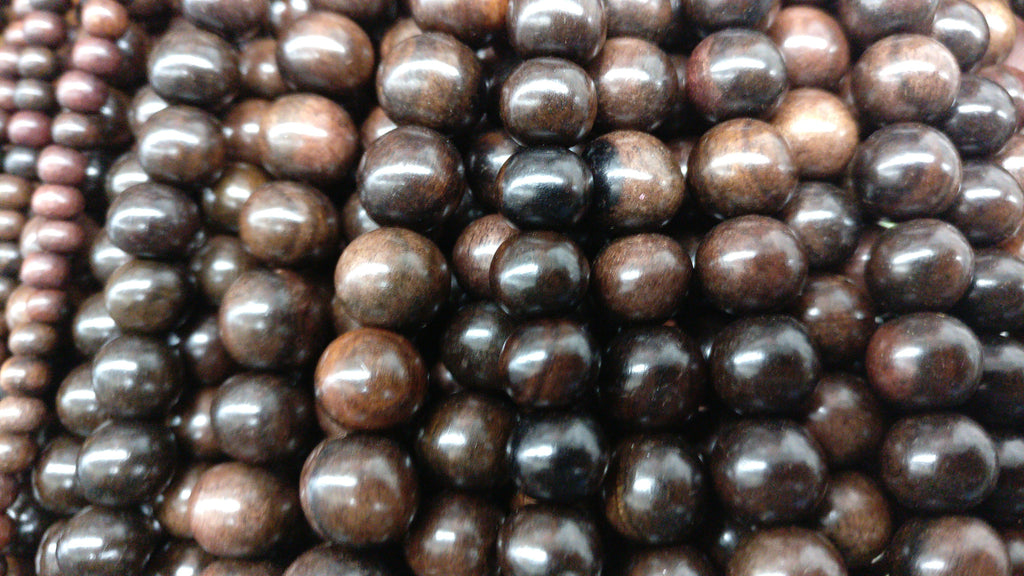 Ebony Wood Beads