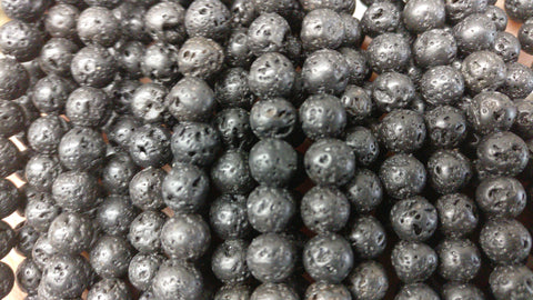 Lava Beads Natural