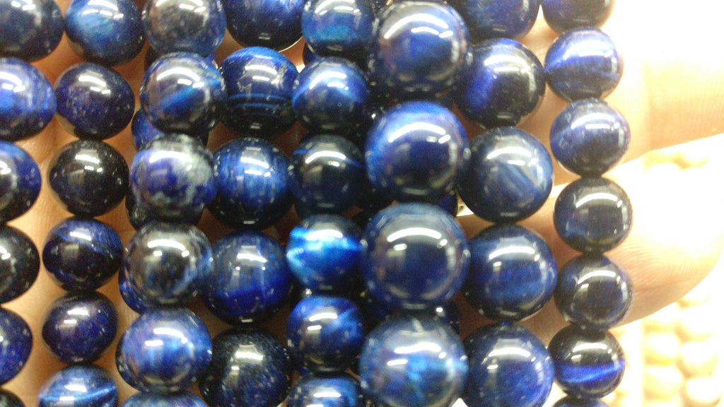 Tiger Eye, Blue