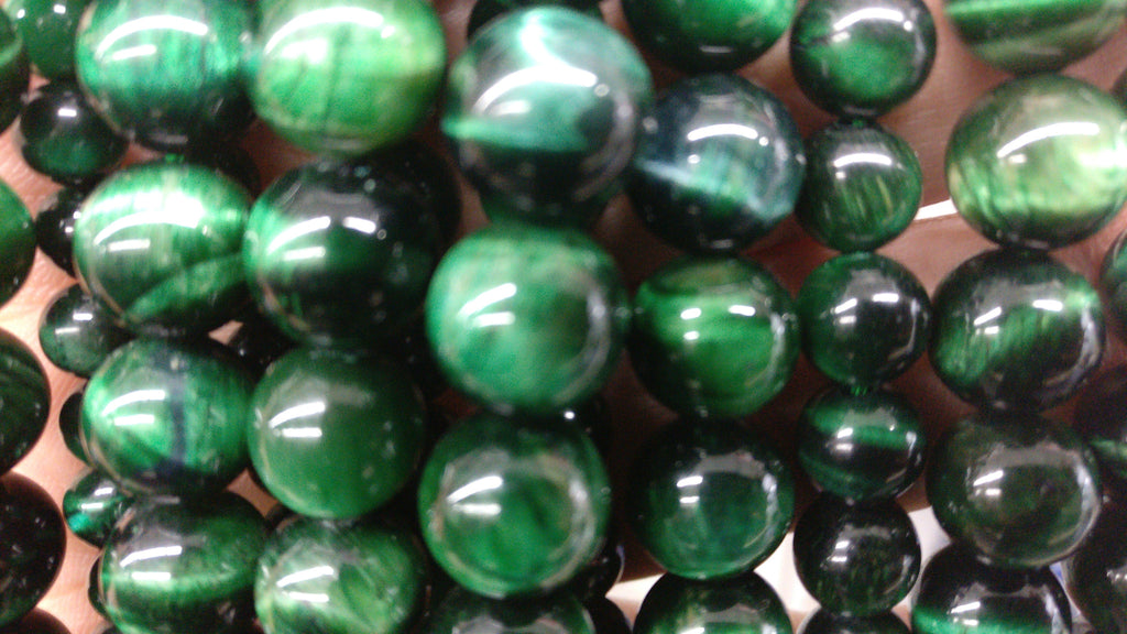 Tiger Eye, Green