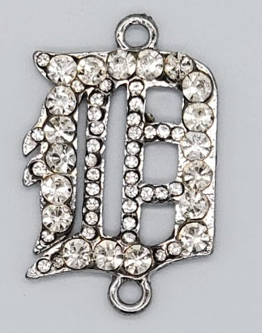"Rhinestone ""D"" Connector"