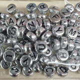 Acrylic Alpha Beads 7mm Round