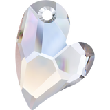 Swarovski 6261 Devoted 2 U Heart Pendant