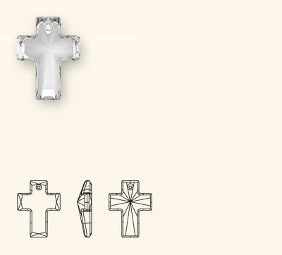6864 Cross Pendant