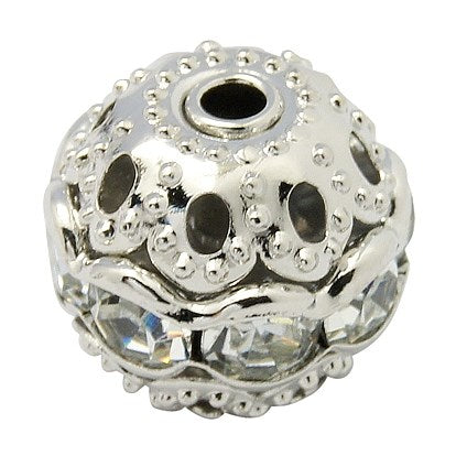 Rhinestone Beads Single Row