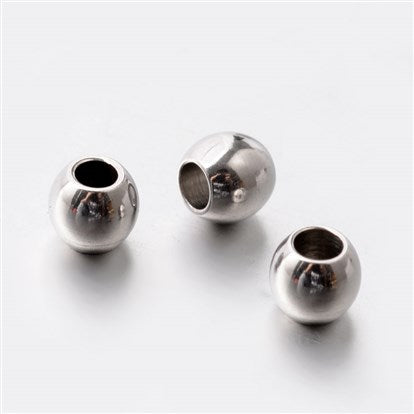 Stainless Round Beads (304SS)