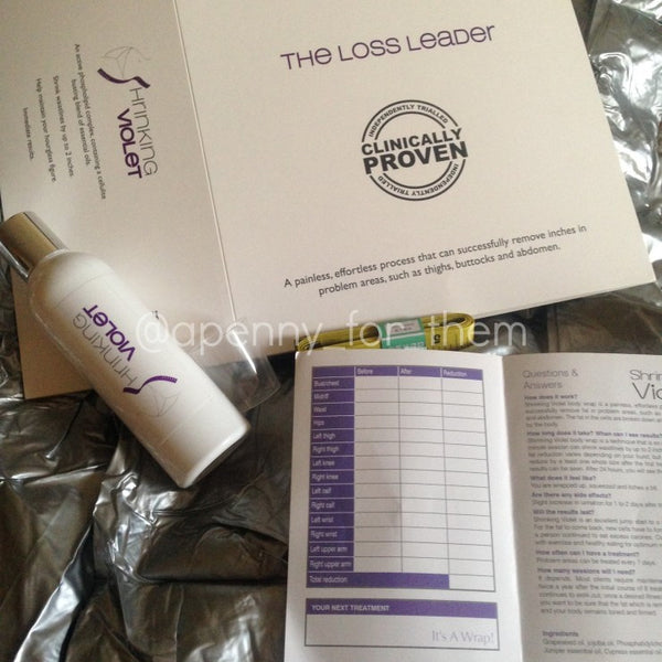 Shrinking Violet Inch Loss Kit