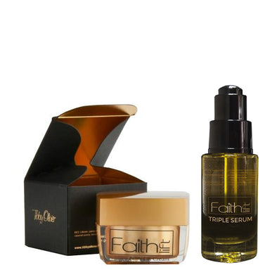 Duo Faith Lift Face Cream & Faith Lift Triple Serum - Tibby Olivier