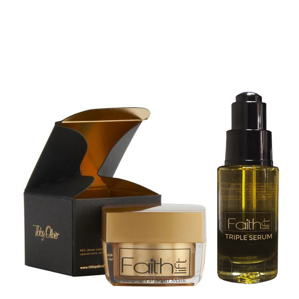 Duo Faith Lift Mask & Faith Lift Triple Serum - Tibby Olivier