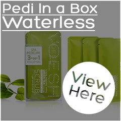 Pedi in a box waterless