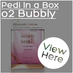 Pedi in a box o2 Bubbly
