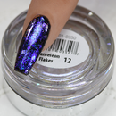 Chamaeleon Flakes Nail Art Effect, Color 12, .5g by Cre8tion