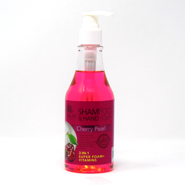 Cherry Pearl Organic Hand Soap 8oz by LaPalm