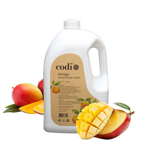 Codi Mango Hand & Body Lotion 1 Gallon / 128oz